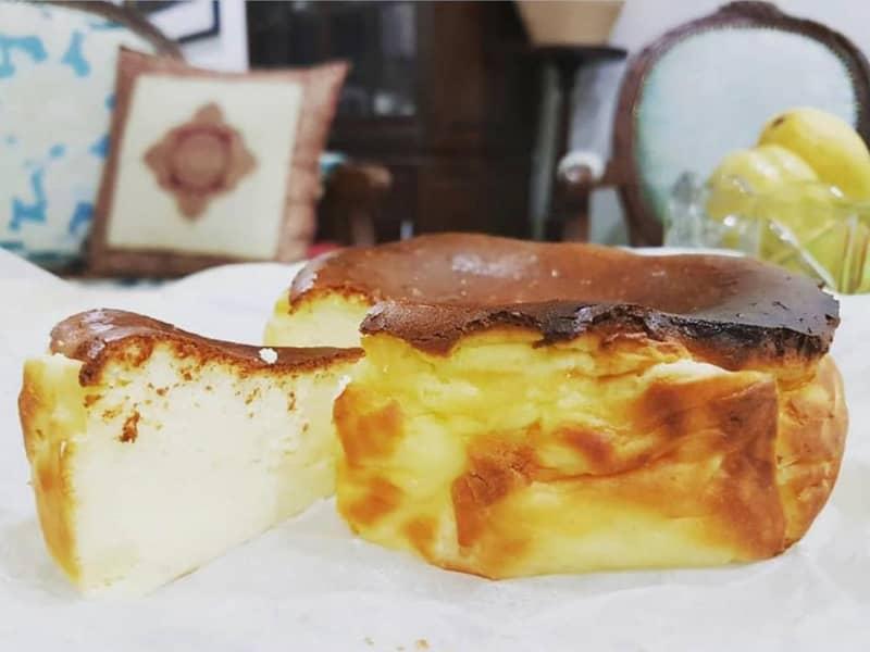 patutlah viral mudah aje buat burnt cheesecake famili penggemar tegar cheese patut cuba keluarga Resepi Kek Guna Tepung Gandum Enak dan Mudah