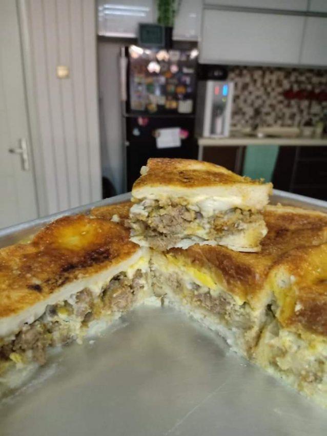 Resepi Roti Lasagna Daging - Tol Kartasura